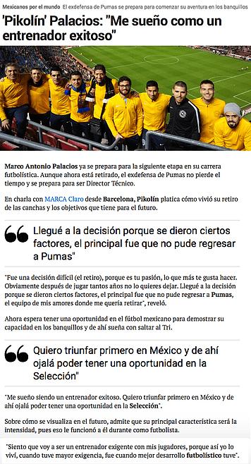 Marca - Claro - Pikolin Palacios en MBP