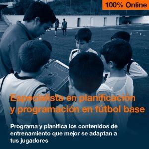 Planificación y programación en fútbol base